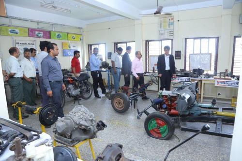 Mr. Y Suzuki visit to KIHRD